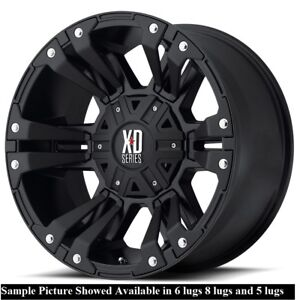 4 New 17 Wheels Rims For Dodge Ram 3500 8 Lug Hummer H2 21778