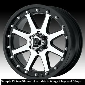 4 New 17 Wheels For Chevy Gmc Silverado 2500 3500 8 Lug 21782