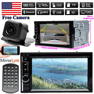For Ford Escape Excursion Explorer 2din Car Stereo Radio Head Unit Player camera