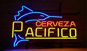 New Cerveza Pacifico Beer Bar Neon Light Sign 17 x14