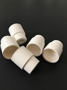 100xwhite Rubber Septum Septa Stoppers For 24 40 Glassware Sleeve Type