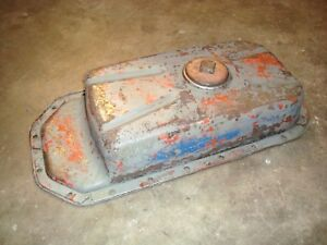 Ford Tractor Industrial Gas Engine Oil Pan Part D2nn6675a 134 172 192