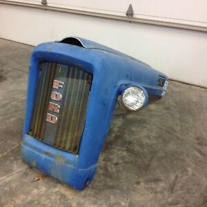 1963 Ford 2000 Tractor Hood Assembly