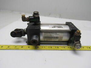 Turn Act 2 1 2 Bore 3 Stroke 5 8 Rod Trunnion Air Cylinder