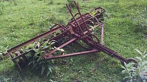 Used Harrow Disk Plow Ripper Drag Vintage Farm Equipment