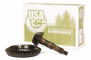 Gm 8 875 Chevy 12 Bolt Car Rearend 3 55 Ring And Pinion Usa Standard Gear Set
