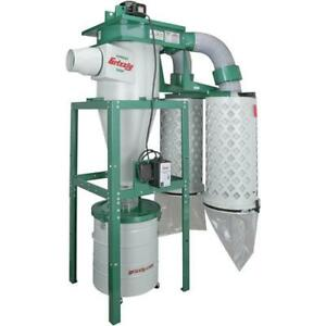 G0601 Grizzly 5 Hp 3 phase Cyclone Dust Collector