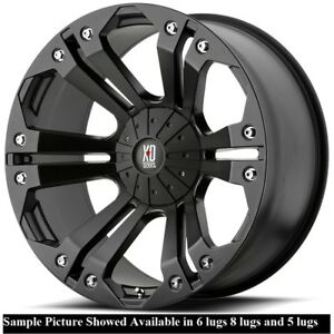 4 New 18 Wheels Rims For Gmc Sierra 3500 2500 1500 21796