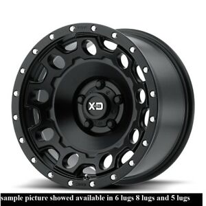 4 New 17 Wheels Rims For Dodge Ram 3500 8 Lug Hummer H2 21798