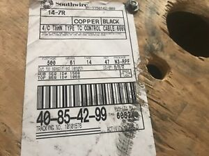 Southwire 14 7r Cu 4 c Thhn Type Tc Control Cable 500 Feet