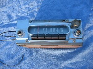 1960 1963 Mercury Am Radio 12 Volt