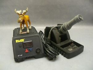 Soldering Station St45 Pace Digital Power Source Tool Stand Cartridge Iron