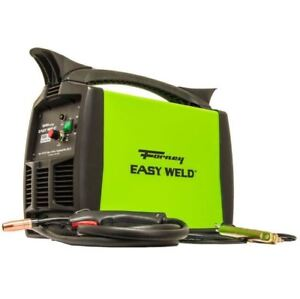 120v Mig Welder 125 amp Flux Core Only 125fc Electric Wire feed Welding Machine