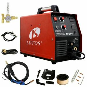 140 amp Welding Machine 110v Mig Wire feed Welder Flux Core aluminum Welder