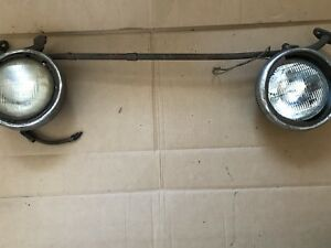 Antique Westinghouse Sealed Beam Headlamp Model A Headlamps With Bar Bracket