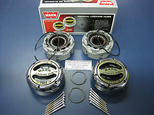 Warn 20990 4wd Premium Manual Locking Hubs Dana 44 Spicer Front Axle 1 2 3 4 Ton
