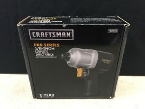 Craftsman 1 2 in Pro Series Composite Impact Wrench 19865