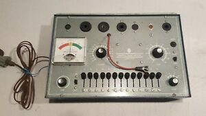 Commercial Trade Institude Tc 20 Tube Tester Tested Works Good