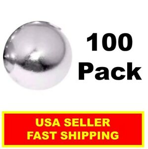 Neodymium Sphere Magnet 1 2 Inch N52 Super Strong Ball Rare Earth 100 Pack