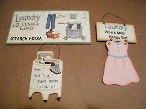 When I Said I Do Didn T Mean Laundry 5c Mom Hangs Out Vintage Room Decor 3 Sign