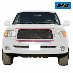 2003 2006 Toyota Tundra Grille Rivet Black Stainless Steel Wire Mesh W shell