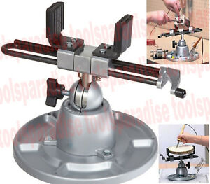 9 Large Wide Jaw Multiple Position Vise 360 Degree Swivel Angle Split ball Vise