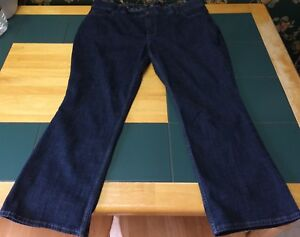 Riders By Lee Womens Plus Size Boot Cut Jeans Size 22W Petite