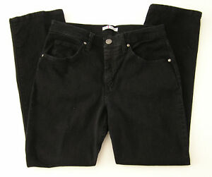 Women's Riders by Lee Classic Fit Straight Leg Black Jeans Size 10 Petite