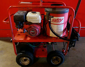 Used Hotsy 965ss Gas Engine Hot Water Pressure Washer 1 110 015 0