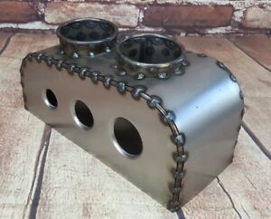 Cup Holder Bomber Seat Hot Rod Seat Rat Rod Seats Center Console Bare Steel