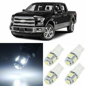 13 X Xenon White Interior Led Lights Package For 2004 2015 Ford F150 F 150 Tool