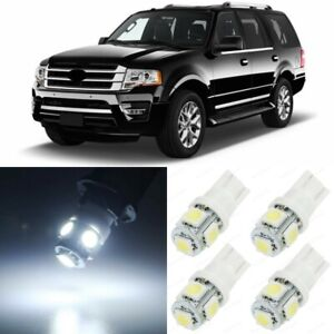 20 X Xenon White Interior Led Lights Package For 2007 2017 Ford Expedition Tool