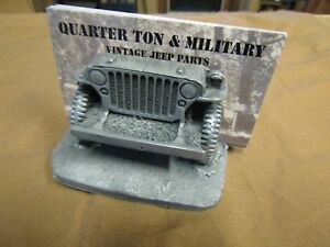 Jeep Willys Mb Gpw Wwii Business Card Holder With Pewter Finnish G503