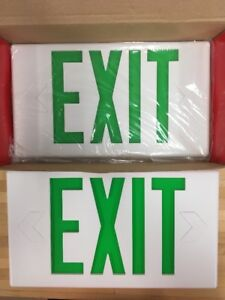 Cooper Lighting Sure lites Led Exit Emergency Lighting Lpx Series
