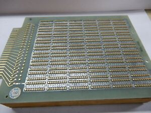 Augat Nos Gold Plated Wire Wrap Board 8136 kg13 16 Pin Dip Setup