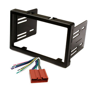 Radio Replacement Dash Mounting Kit 2 Din W 24 Pin Harness For Mazda Tribute