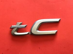 05 06 07 08 09 10 Scion Tc Rear Trunk Lid Emblem Logo Badge Sign Symbol Oem 6