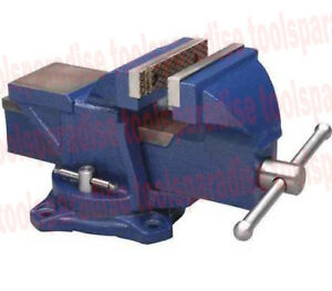 Wilton 4 Benchtop Spinning Swivel Base Vise Anvil Bench Clamp Vice