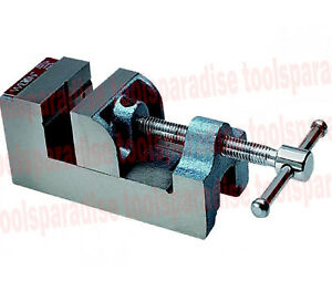 Wilton Small 2 1 2 Drill Press Vise 90 Degrees V groove Stationary Jaw Vice