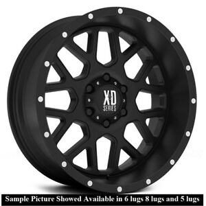 4 New 20 Wheels Rims For Chevy Silverado 2500 Hd Lt Ltz Wt 23058