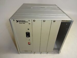 National Instruments Scxi 1000 Mainframe Chassis 4 Slot 181445g 01