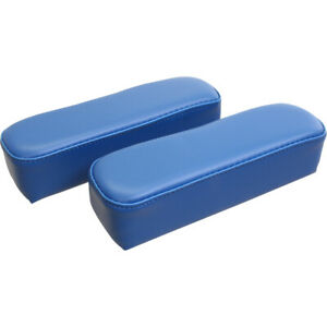 F8600arv Arm Rests Blue Vinyl For Ford New Holland 860 8700 9600 Tractors
