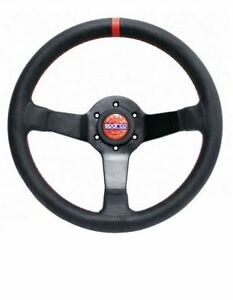 Sparco 015tchmp Black Leather Champion Limited Edition Steering Wheel