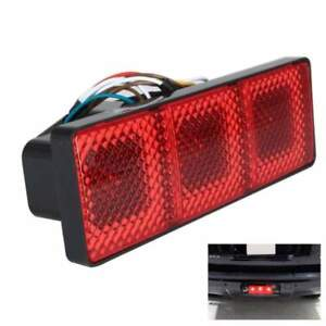 Turn Signal Brake Trailer Tow Truck Plastic Suv Light Hitch Receiver Cover
