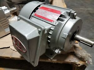 Intn l Asian American 1 1 2 Hp 3 Phase High Torque Induction Motor Ba1 50 02