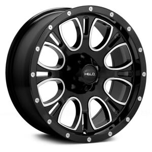 4 New 17 Wheels Rims For Dodge Ram 3500 8 Lug Hummer H2 21807