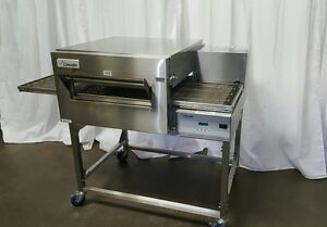 Lincoln Impinger Model 1132 Pizza Oven On Stand On Casters