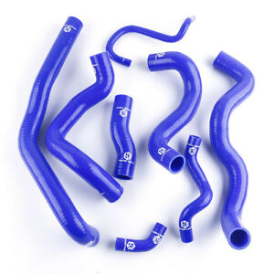 For Bmw Mini Cooper S R56 1 6t 2006 2013 Blue Radiator Silicone Coolant Hose Kit