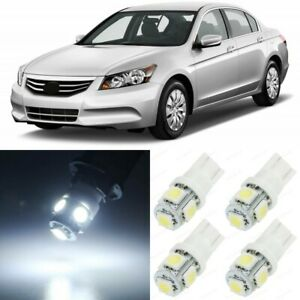 15 X Xenon White Interior Led Lights Package For 2003 2012 Honda Accord Tool