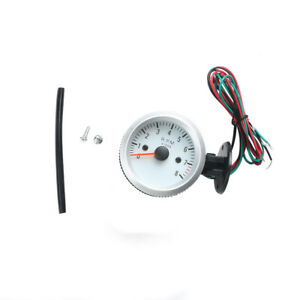 2inch 52mm Universal 0 8000rpm Blue Led Car Tachometer Tacho Gauge Meter New